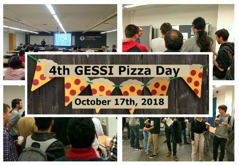 The 4th GESSI Pizza Day will be held by October 17th